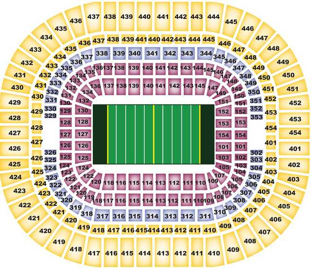 St louis rams seating chart ramsseatingchart com
