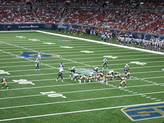St. Louis Rams Lower Corner