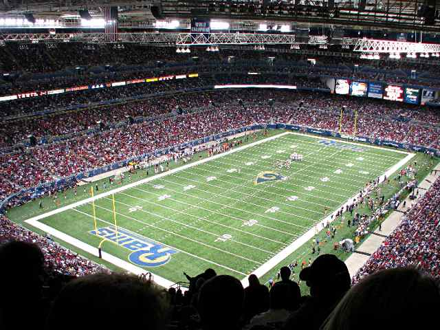 St. Louis Rams Upper Endzone